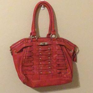 Red Big Buddha purse.